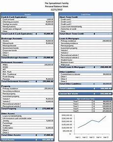 Balance Sheet Excel Free Excel Template To Calculate Your Net Worth