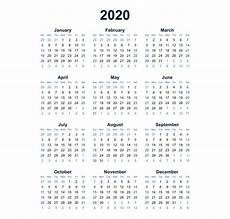 at a glance calendar 2020 year at a glance 2019 2020 free calendar inspiration design
