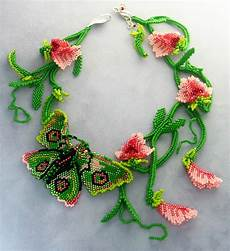 beadwork beautiful beautiful floral beaded jewelry by huib petersen magic