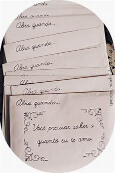 Cartas Para Namorados Que Seja Um Sonho Diy Amp Ideias De Presentes Para