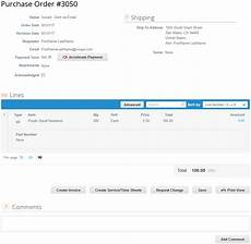 Purchase Order Invoices Create An Invoice From A Po Tech Mistake