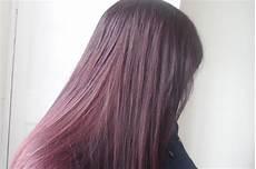 ribena coloured hair with l oreal creme gloss in