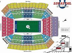 Lucas Oil Seating Chart Nfl Stadium Seating Charts Stadiums Of Pro Football