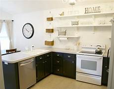 remodelaholic kitchen remodel removing cabinets