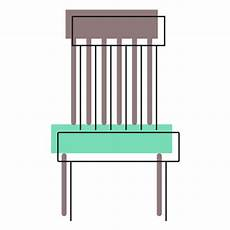 basic chair icon transparent png svg vector file