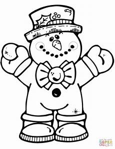 simple snowman coloring pages at getcolorings free