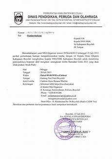 contoh undangan rapat kegiatan ramadhan info sma smk kabupaten boyolali pemberitahuan kegiatan