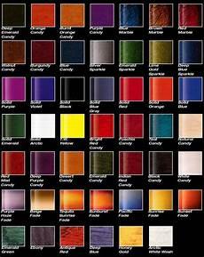 Metallic Car Paint Color Chart 12 Best Car Paint Charts Images On Pinterest