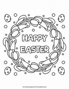 happy easter coloring page free printable ebook easter