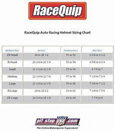 Answer Helmet Size Chart Sizing Chart Racequip Auto Racing Helmets