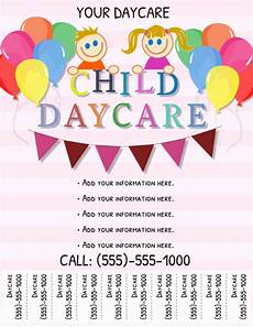 Free Daycare Flyer Templates Copy Of Daycare Flyer Postermywall