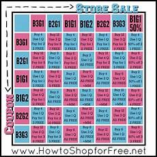 Bogo Chart For Couponing Quot Bogo Cheat Chart Quot Chart Bogo Sale
