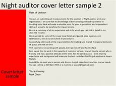 Night Auditor Cover Letter Night Auditor Cover Letter