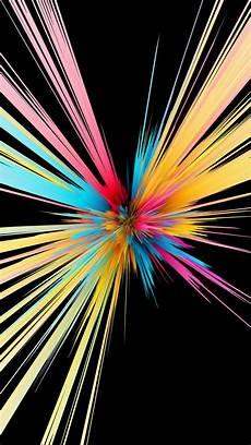 4k wallpaper black for mobile colorful particles explosion black background