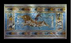 fresco ancient bull leaping fresco