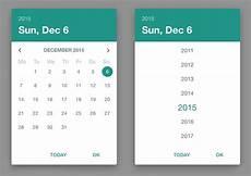 Angular Material Design Datepicker Material Design Date Picker With Angular Material