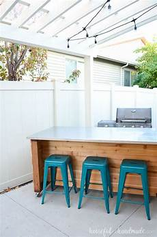 outdoor island kitchen outdoor kitchen island build plans a houseful of handmade