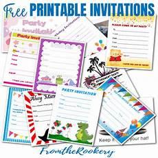Invitation Creator Free Printable Free Printable Invitations