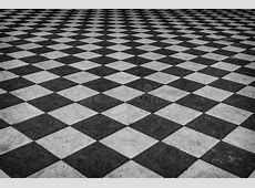 Black And White Checkered Marble Floor Stock Photo   Image: 52101814