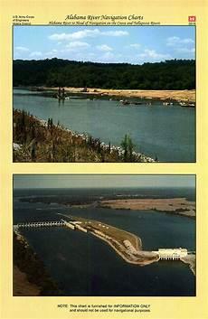 Alabama River Navigation Charts Alabama River Navigation Charts Alabama River To Head Of