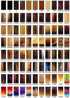 Wigs Color Chart It S A Wig Hair Color Chart 2 Hair Cuts Colors And