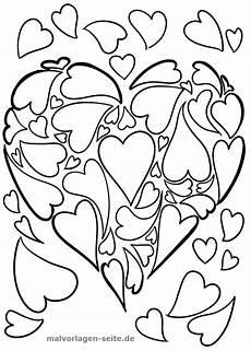 Malvorlagen Herzen Kostenlos Malvorlage Herz Aus Herzen Malvorlagen Ausmalbilder