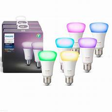 Philips Light Hue Philips Hue White And Color E27 6 Pack