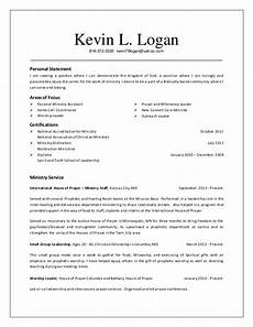 Church Resumes Resume Kevin Logan Ministry Resume 2014 10 10