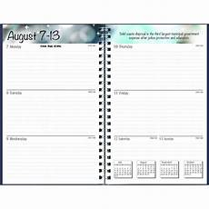 Monthly Planner Book House Of Doolittle 27502 Recycled Academic Weekly Monthly