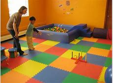 Wonder Mat 6 Piece Non Toxic Non Recycled Extra Thick Rainbow Playmats, Red/Orange/Yellow/Green