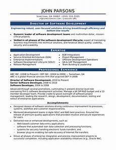 Software To Make Resume Sample Resume For An Experienced It Developer Monster Com