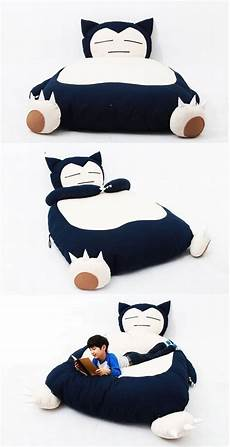 snuggly snorlax inspired bed room