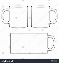 Coffee Mug Template Coffee Mug Template Blank White Coffee Stock Vector
