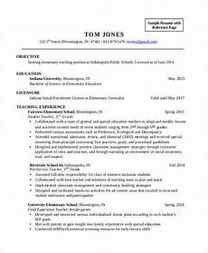 Resume Objective For Education 28 Teacher Resume Templates Download Free Amp Premium