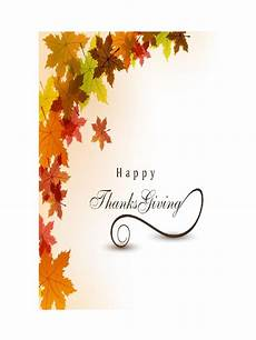 thanksgiving card template word free thanksgiving card template 5 free templates in pdf word