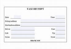 Sample Cab Receipt 7 Taxi Receipt Templates Word Excel Pdf Formats