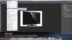 creare cornice photoshop tutorial come creare una cornice stile tv su photoshop