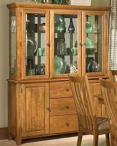 intercon solid oak buffet hutch highland park inhp6034 6048