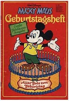 Micky Maus Malvorlagen Terbaik Micky Maus Geburtstagsheft By Egmont Ehapa Verlag Gmbh