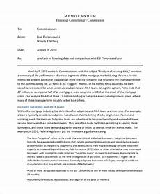 financial analysis example free 11 financial memo examples amp samples in pdf word