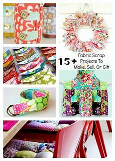 fabric scrap projects to make sell or gift diy and