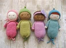 amigurumi knit baby doll patterns digital
