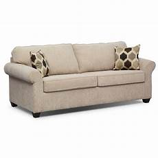 fletcher memory foam sleeper sofa beige american
