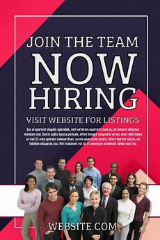 Now Hiring Template Flyer Now Hiring Template Postermywall