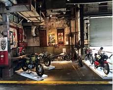 garage butik theone motorcycle show design og v 230 rksted