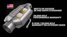 Catalyte Ic Design Flowmaster Catalytic Converters New Universal And