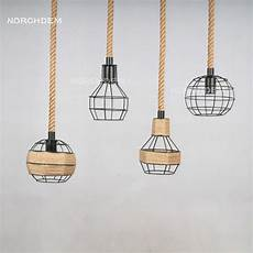Rope Lighting Suppliers Ireland Aliexpress Com Buy Vintage Rope Pendant Lights Loft
