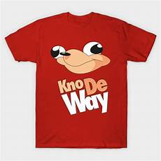meme clothes kno de way knuckles meme shirt