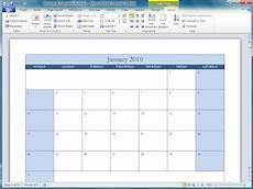 Microsoft Office Calendars Office 2010 Office 2010 Calendar Templates