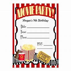 Movie Themed Invitation Template Free Movie Party Invitations Blank Template 313084 Jpg 512 215 512